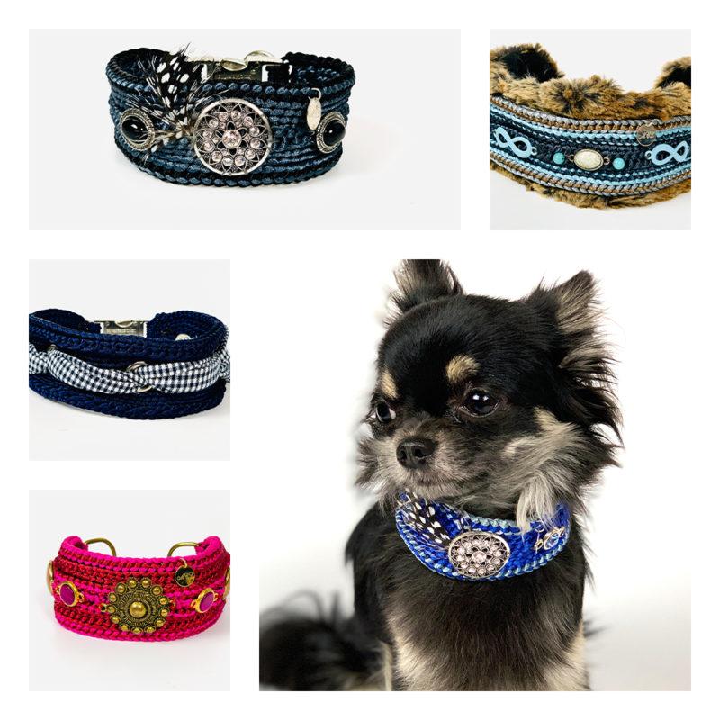 Hundehalsbänder und Leinen